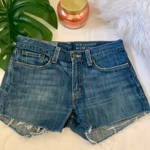 Custom Levi's hIgh Waisted Denim Shorts